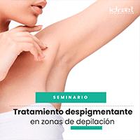 Tratamiento despigmentante en zonas de depilación